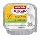 Animonda Integra Protect Dog Sensitive Turkey & Parsnip ветеринарная диета консервы для взрослых собак при пищевой аллергии c Индейкой и пастернаком